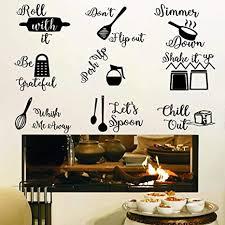 küchen wandaufkleber küche schriftzug wandtattoo schwarze küche zitate wandaufkleber küchengeschirr mit sprüche aufkleber diy abnehmbar zuhause