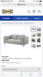 Ikea Knislinge Sofa Cover by Best 25 Ikea Loveseat Ideas On Pinterest Ikea Sofa Ikea