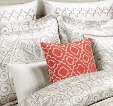 Nicole Miller Paisley Throw Pillows by Amazon Com Tahari Home 3pc Duvet Cover Set Paisley Scroll