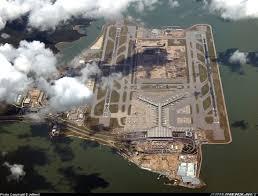100 Birdview A Clear Birdview Of Hongkong AirportIm On Descending To