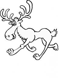 Moose Coloring Page 789x1024