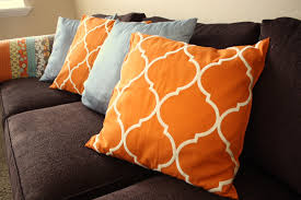 Throw Pillows from Pottery Barn Clearance Tablerunner