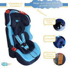 si鑒e auto pour enfant siège auto évolutif isofix bébélol pour enfant groupe 1 2 3