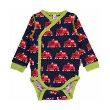 Fire Truck Wrap Onesie – Ittikid • Scandinavian Children's Clothes