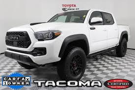 Certified Pre-Owned 2018 Toyota Tacoma TRD Pro In Santa Fe ...