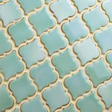 Home Depot Merola Penny Tile by 19 Best Green Crackle Tile Images On Pinterest Mosaics Mosaic