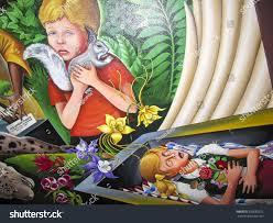 Denver International Airport Murals Artist by Denver Usa July 26 2008 Children Stock Photo 339682622 Shutterstock