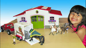 Schleich Horse Club Stable Riding Center And Pickup Truck With ... Saddle Up With The Sleich Horse Club Riding Centre The Toy Insider Grand Stable Barn Corral Amazoncom Melissa Doug Fold And Go Wooden Ikea Hack Knagglig Crate For Horses Best Farm Toys Photos 2017 Blue Maize Breyer Stablemates Red Set Kids Ebay Life In Skunk Hollow Calebs Model How To Make Stall Dividers A Box Toy Horse Barns Sale Ideas Classics Country Wash Walmartcom Kid Friendly Youtube Traditional Deluxe Wood Cupola