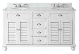46 Inch Double Sink Bathroom Vanity by 62 Inch Double Sink Bathroom Vanity Beach House Snow White 62