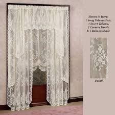 Amazon Lace Kitchen Curtains by Kitchen Adorable Cotton Cafe Curtains Bathroom Window Curtains