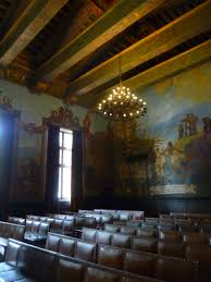 Santa Barbara Courthouse Mural Room by File Santa Barbara Courthouse Old Courtroom Murals Jpg Wikimedia