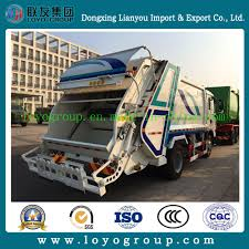 China New HOWO Small Capacity Garbage Truck For Sale - China Garbage ...