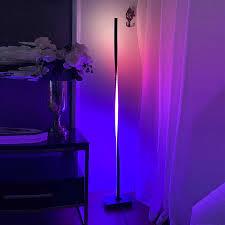 moderne led rgb boden lichter beleuchtung wohnzimmer schlafzimmer decor boden le nacht stehend le nordic innen stehend beleuchtung