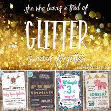 Invitation Glitter Summer Sale!! Coupon Code