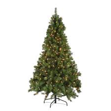 Noble Fir Quick Set Artificial Christmas Tree With 500 Clear Lights