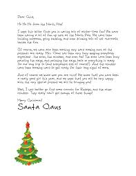Free Letters from Santa we forgot to tell you