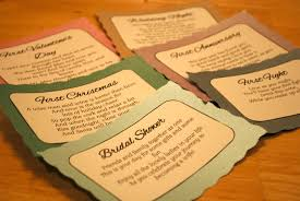 Poems About Halloween Night by A U0027s Guilty Pleasures Diy Bridal Shower Wine Poems