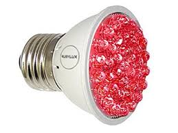 ruby light therapy bulb infrared light therapy