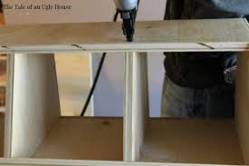 remodelaholic how to build a toy cubby shelf boy u0027s room makeover
