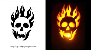 Scary Vampire Pumpkin Stencils by 27 Scary