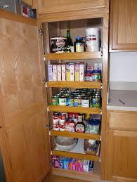 Kitchen Pantry Storage Cabinet Broom Closet Design The apse