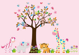 Tree Wall Decor With Pictures by Decoration Ideas Heavenly Image Of Accessories For Kid Bedroom