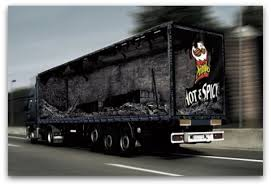 Funny Truck With Borken Wall Effect | HD Art Wallpapers For Mobile ...