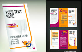Tri Fold Brochure Template Pages Free Vector Download 13552 Ideas