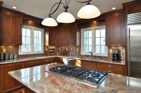 Best Choice For Kitchen Countertops Design Ideas Interesting L Shaped Cabinet And Countertop Using