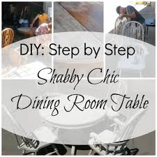 Shabby Chic Dining Room Table And Chairs by Creating A Shabby Chic Dining Room Table Flagstaff Places