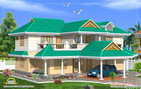 100 Beautiful Duplex Houses House Design 2700 Sq Ft Kerala Home Design And Floor Plans