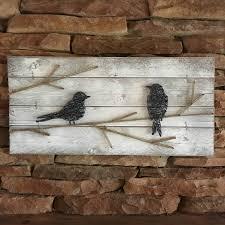 RUSTIC GALLERY WALL Farmhouse Decor Bird Wall Art Chic String