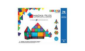magna tiles clear colors 32 pc set groupon