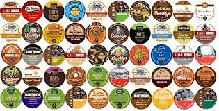 50 Count K Cup For Keurig Brewers All Coffee REGULAR FLAVORED