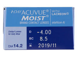 Halloween Contacts Cheap No Prescription by 1 Day Acuvue Moist 30 Pack Acuvue Moist Dailies