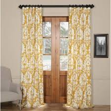 Tahari Home Curtains Yellow by Floral Curtains U0026 Drapes For Less Overstock Com