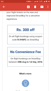 Flights: Get 300 Off + No Convenience Fee + 5% Cashback ... Flights Get 300 Off No Convience Fee 5 Cashback E Coupon Code For Indigo Airlines Tkomsel Line Store Get Paypal Flight Offers Mmt Rs1200 Off On Top 10 Coupon Codes October 2015 At Vayama By Lyly Black Ticket Icon With Qr Code Stock Illustration Promotion Codes And Discounts Trybooking Atalia Discount 122 2018 Best 19 Tv Deals Rehlat Fight Hotel Booking Social Happy Easy Goflat 800 Flights Desidime Great Deal Westjet Fares 23 Today Only Master Travellr Expedia 12 Tested Hacks Au