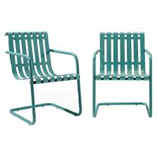 Slingback Patio Chairs Target by Gracie Metal Retro Patio Spring Chair Target