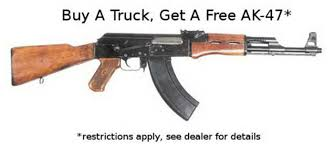 Florida Truck Dealer Gives Away Free AK-47 Assault Rifle With Every ... Metro Detroit Chevrolet Dealership Alternative Les Stanford Florida Truck Dealer Gives Away Free Ak47 Assault Rifle With Every Ntrusted Ford Ranger Logo And Details In Chrome Looks Very Trucks For Sale Sanford Fl 32771 Autotrader Auto Transmission Repairs Aamco Of 32773 Longwood 32779 Diesel Specifications Brought To You By Nations Bumper Scuff Repair Scuffnchips Live Reporting From Incident Sept 6 2018 No Login