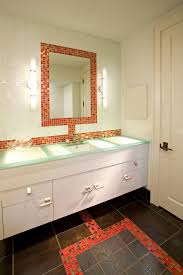 magnificent mirror tiles trend minneapolis contemporary bathroom
