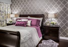 Bedroom Design Ideas With Wallpaper Decoration
