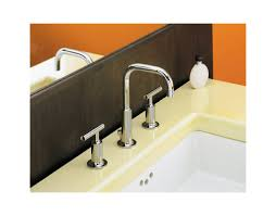 Kohler Bathroom Sink Faucets Widespread by Faucet Com K 14406 4 Bv In Brushed Bronze By Kohler