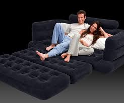 Intex Inflatable Pull Out Double Sofa Bed by Inflatable Pull Out Sofa Dudeiwantthat Com