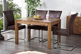 casa padrino dining room table solid sheesham wood 120 cm