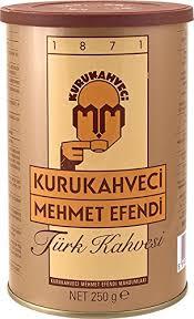 Mehmet Efendi Turkish Coffee 250 Gram Can