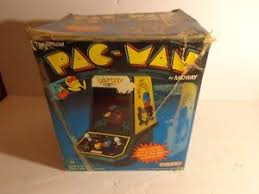1981 Coleco Pacman By Midway Table Top Mini Arcade WITH BOX AND INSTRUCTIONS