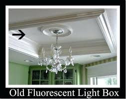 replace fluorescent light fixture recessed lighting replacing