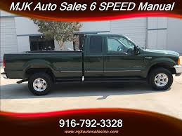 1999 Ford F-250 7.3L 7.3 Diesel 4x4 39k Miles 6 Speed Manual For ...