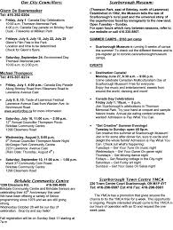 Dave And Busters Halloween Toronto by Glen Andrew Community Association Newsletters