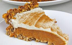Pumpkin Pie Sweetened Condensed Milk by Pumpkin Pie With Cinnamon Nut Crust Vegan Gluten Free One
